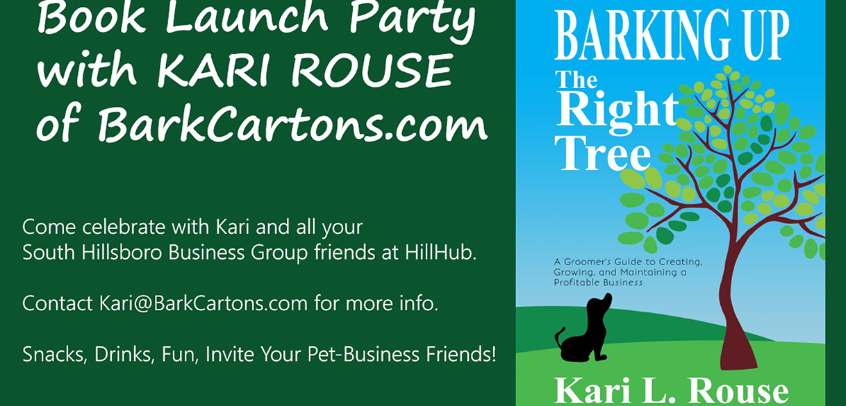 Barking Up the Right Tree book launch event