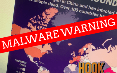 Beware of the Covid-Map Malware